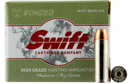 Swift 10005 A-Frame Heavy Revolver 44 Remington Magnum 300 GR Hollow Point - 20rd Box