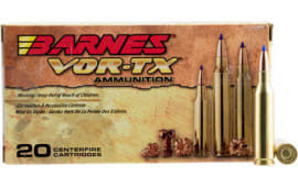 Barnes 21522 VOR-TX 243 Winchester 80 GR Tipped TSX Boat Tail - 20rd Box