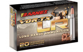 Barnes Bullets 29061 VOR-TX 338 Remington Ultra Magnum (RUM) 250 GR LRX Boat Tail - 20rd Box