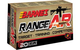 Barnes 30733 Range AR 300 AAC Blackout 90 GR Otfb - 20rd Box
