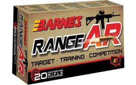 Barnes 30733 Range AR 300 AAC Blackout 90 GR Otfb - 20rd Box