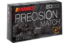 Barnes Bullets 30740 Precision Match 300 Win Mag 220 GR OTM - 20rd Box