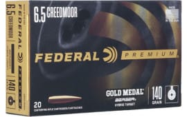 Federal GM65CRDBH2 6.5 Creedmoor 140 Berger HYB - 20rd Box