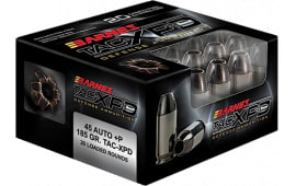Barnes 21555 TAC-XPD 45ACP+P 185 GR TAC-XP - 20rd Box
