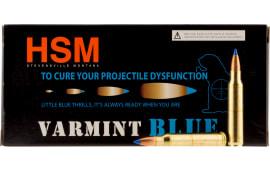 HSM HSM22354N Varmint Blue .223/5.56 NATO 55 GR Sierra BlitzKing - 20rd Box