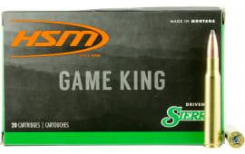 HSM 300641N Game King 30-06 180 GR SBT - 20rd Box