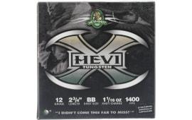 "HEVI-Shot 50278 Hevi-X Waterfowl 12GA 2.75"" 1-1/16oz BB Shot - 25sh Box"