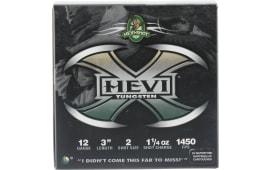 "Hevishot hot hot 50302 Hevi-X Waterfowl 12GA 3"" 1-1/4oz #2 Shot - 25sh Box"