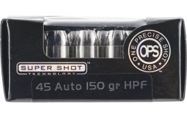 Ammo Inc 45150HPF OPS 45 ACP 150 GR Hollow Point - 20rd Box