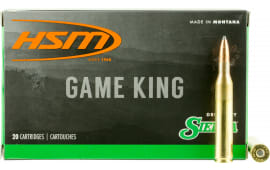 HSM 25061N Game King 25-06 Remington 100 GR SBT - 20rd Box