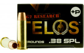 G2 Research Telos 38 SPL+ Telos 38 Special 105 GR Copper Hollow Point Fracturing - 20rd Box