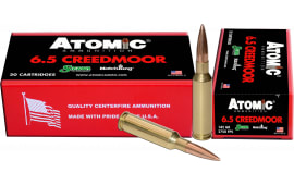 Atomic 00404 Match 6.5 Creedmoor 142 GR Match HP - 20rd Box
