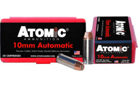 Atomic 00432 Defense 10mm Automatic 180 GR Bonded MHP - 50rd Box