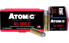 Atomic 00434 Cowboy Action 45 Colt (LC) 200 GR LRNFP - 50rd Box