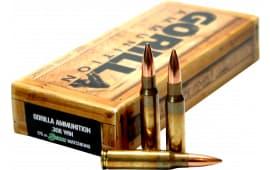 Gorilla GA308175SMK Gorilla Match 308 Winchester/7.62 NATO 175 GR Sierra MatchKing - 20rd Box