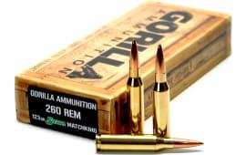 Gorilla GA260123SMK Gorilla Match 260 Remington 123 GR Sierra MatchKing - 20rd Box