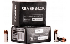 Gorilla Ammunition SB45230SD Silverback 45 ACP 230 GR Solid Copper Hollow Point - 20rd Box