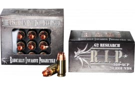 G2 Research RIP 380 ACP R.I.P 380 ACP 62 GR Hollow Point - 20rd Box