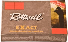"Ruag Ammotec USA 246940005 Rottweil Exact 12GA 2.75"" 1-1/8oz Slug Shot - 5sh Box"