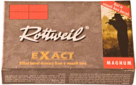 "Ruag Ammotec USA 247040005 Rottweil Exact 20GA 3"" 15/16oz Slug Shot - 5sh Box"