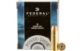 Federal C44B Standard 44 Rem Mag Jacketed Hollow Point 180 GR - 20rd Box