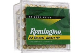 Remington Ammo 1600 22LR 36 GR HV Plated Hollow Point - 100rd Box