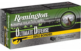 Remington Ammunition RD223R4 Ultimate Defense .223/5.56 NATO 62 GR Core-Lokt Ultra Bonded PSP - 20rd Box