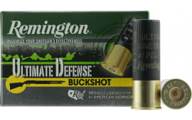 "Remington Ammunition 12HB4HD Ultimate Defense 12GA 3"" Buckshot 41 Pellets 4 Buck - 5sh Box"