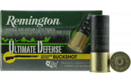 "Remington Ammunition 12BRR4HD Ultimate Defense 12GA 2.75"" Buckshot 21 Pellets 4 Buck - 5sh Box"