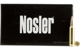 Nosler 60124 Match Grade RDF 22 Nosler 70 GR Hollow Point Boat Tail - 20rd Box