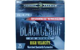 """Federal PWBX1431 Black Cloud 12GA HV 3"""" 1-1/8oz #1 Shot - 250sh Case"""