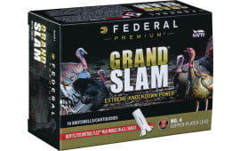 "Federal PFCX101F4 Grand Slam Turkey 10GA 3.5"" 2oz #4 Shot - 10sh Box"