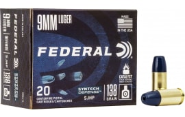 Federal S9SJT2 9mm 138 SJHP Synthetic - 50rd Box