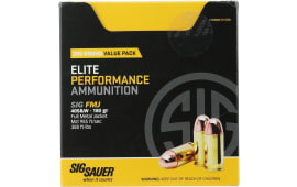 Sig Sauer E40SB2200 Elite Ball 40 Smith & Wesson (S&W) 180 GR Full Metal Jacket - 200rd Box