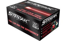 Ammo Inc 40180TMC-STRK Streak Red 40 Smith & Wesson (S&W) 180 GR Total Metal Jacket - 20rd Box
