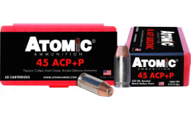 Atomic 00433 45ACP+P 230 Bonded Match HP - 50rd Box