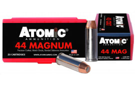 Atomic 00440 Match 44 Remington Magnum 240 GR Bonded Match Hollow Point - 50rd Box
