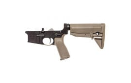 Bravo Company BCM Lower Receiver Group w/ Stock Mod 0 Multi Caliber (Flat Dark Earth) - LRG-STK-MOD-0-FDE