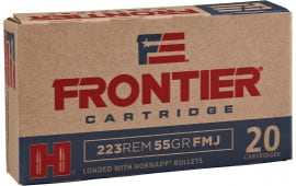 Frontier Cartridge FR100 Frontier 223 Remington/5.56 NATO 55 GR Full Metal Jacket - 20rd Box