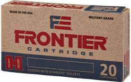 Frontier Cartridge FR160 Frontier 223 Remington/5.56 NATO 68 GR Boat Tail Hollow Point Match - 20rd Box