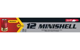"Aguila 1CHB1288 Minishell 12 GA 1.75"" Buckshot 5/8oz 00 Buck - 20sh Box"