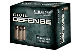 Liberty LACD45031 Civil Defense 45 LC 78 GR LF Fragmenting HP 20Bx - 20rd Box