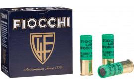 "Fiocchi 12LEBAT Rubber Baton 12 GA 2.75"" 4.8 GR Slug - 25sh Box"