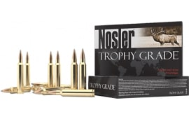 Nosler 60104 Trophy Grade Long Range 7mm Shooting Times Westerner 175 GR AccuBond Long Range - 20rd Box