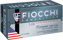 Fiocchi 9X18 Specialty 9x18mm Ultra 100 GR Metal Case (FMJ) - 50rd Box