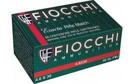 Fiocchi 46EXA Exacta 4.6X30 H&K 40 GR FMJ - 50rd Box
