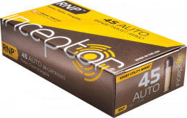 Inceptor 45RNPBR50 Sport Utility 45 ACP 135 GR RNP - 50rd Box