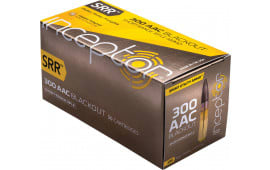 Inceptor 300SRRBLK50 Sport Utility 300 AAC Blackout/Whisper (7.62x35mm) 88 GR SRR - 50rd Box