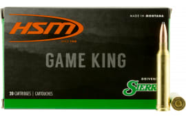 HSM 7STW8N Game King 7mm Shooting Times Westerner 160 GR SBT - 20rd Box