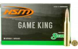 HSM 338LAP14N Game King 338 Lapua Magnum 215 GR SBT - 20rd Box